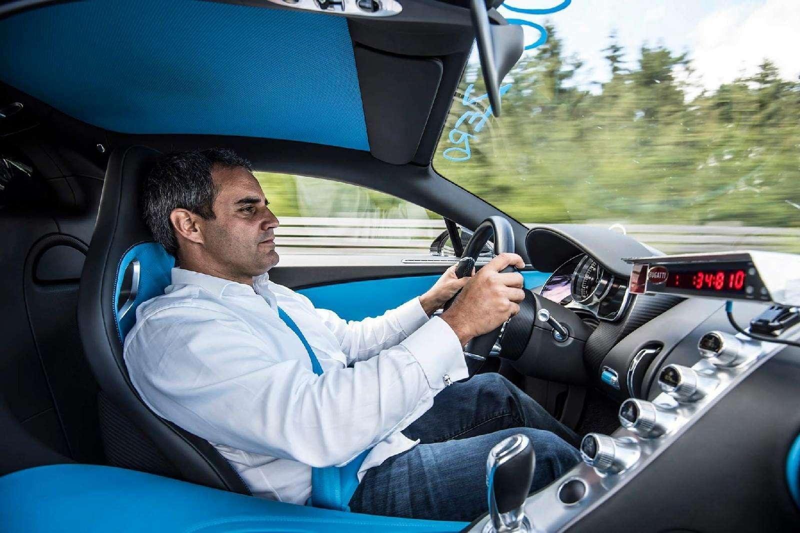 0-400-0 км/ч— видео рекордного заезда Bugatti Chiron— фото 794898
