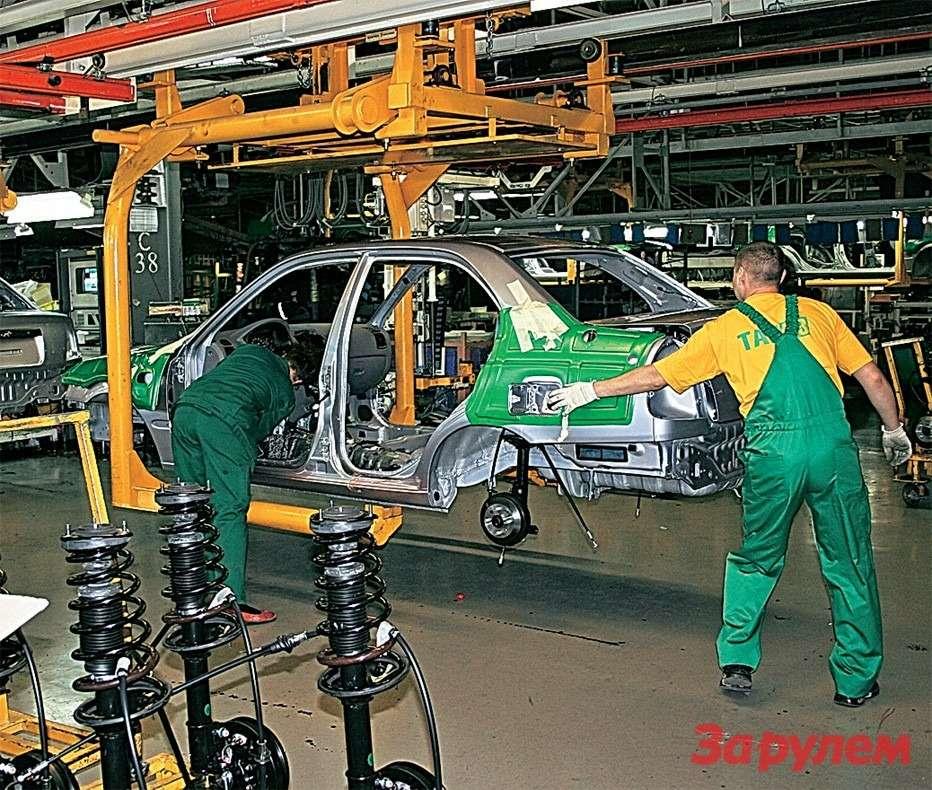 Таганрогский автомобильный завод сделал себе имя насборке устаревших корейских седанов ивседорожников. Кстати, получал награды завысокое качество сборки…