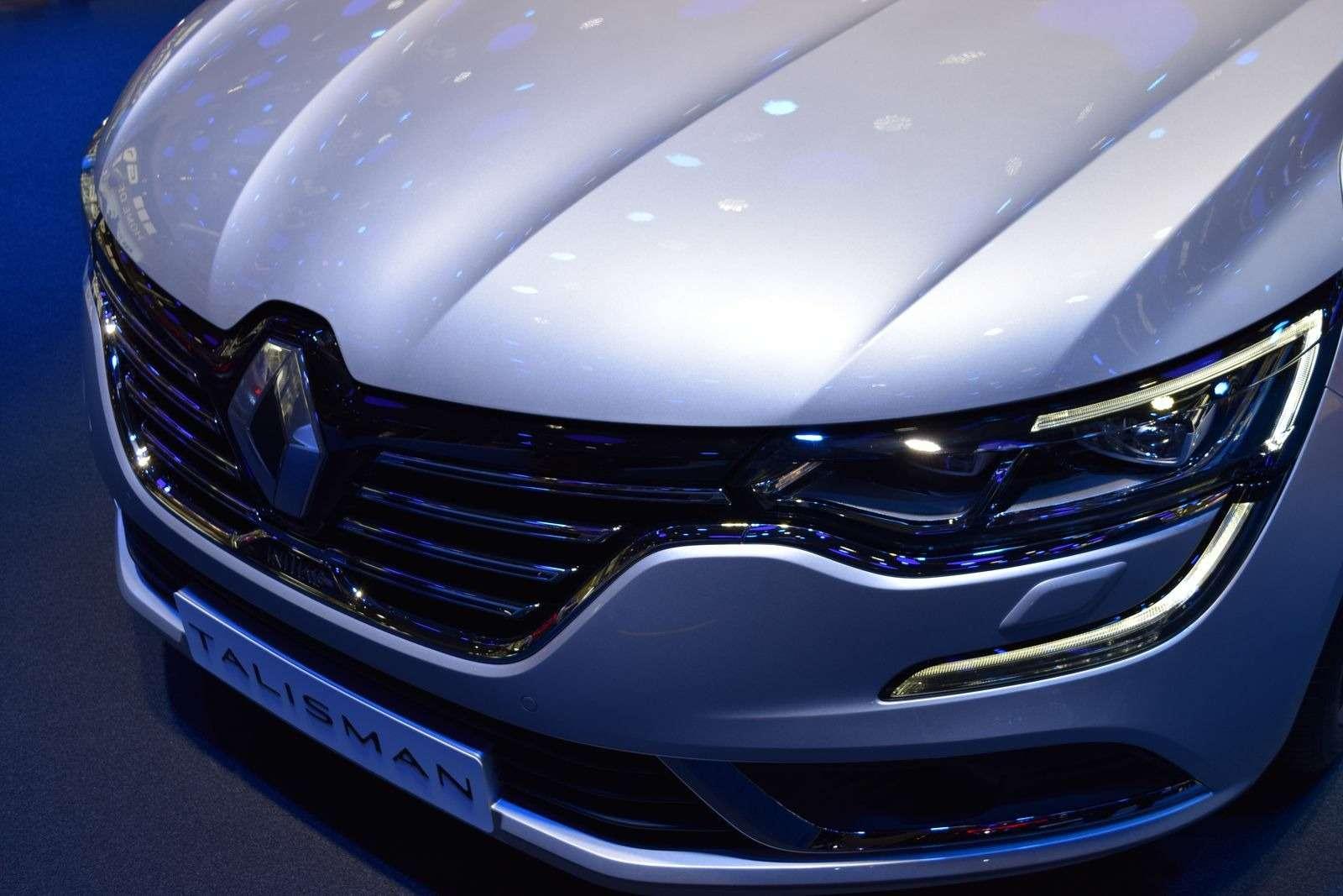 Renault Talisman заедет вавтопарк президента Франции— фото 390898