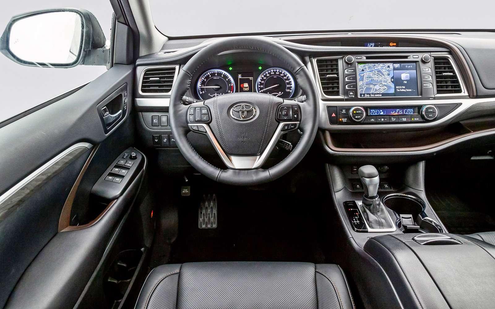 Обновленный Toyota Highlander: маска Кабуки— фото 728499