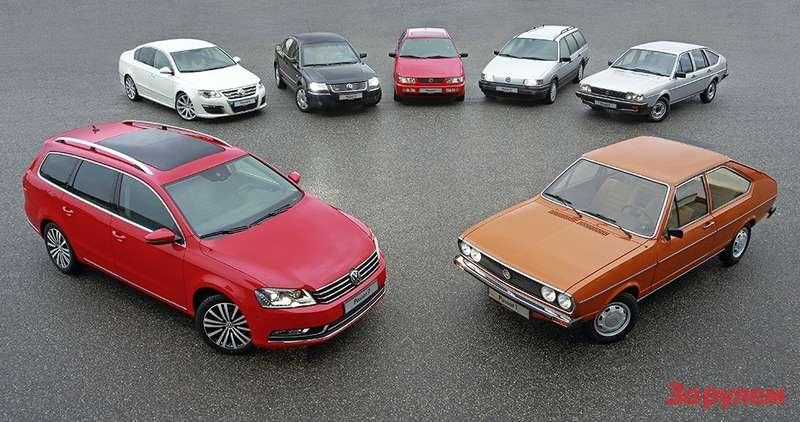 Volkswagen Passat Celebrates 40th Anniversary(1)