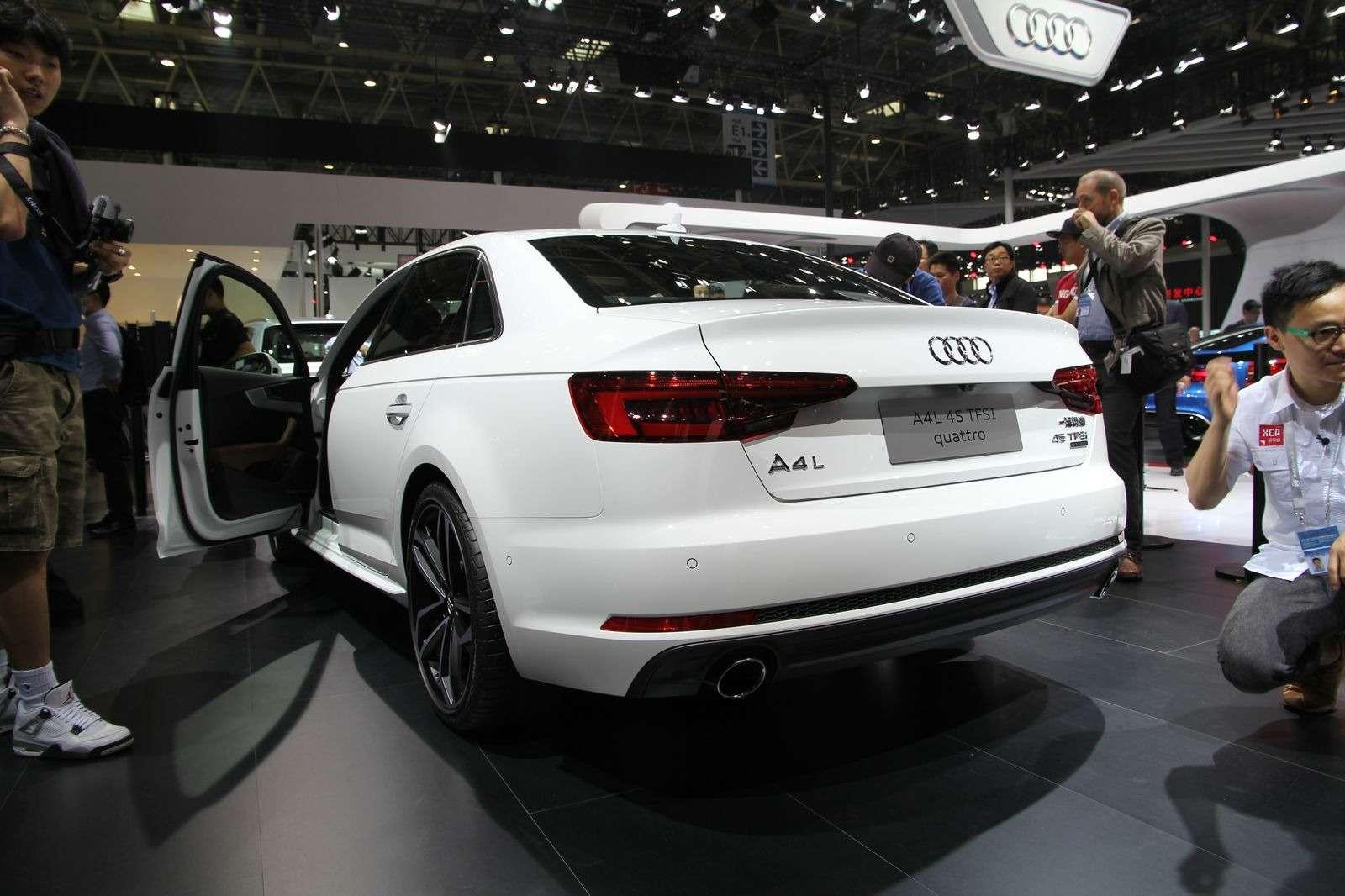 Audi A4L: немецкая щедрость вобмен наюани— фото 580291
