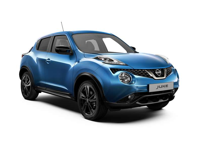 Nissan Juke: новые цвета исветодиоды. Уже впродаже