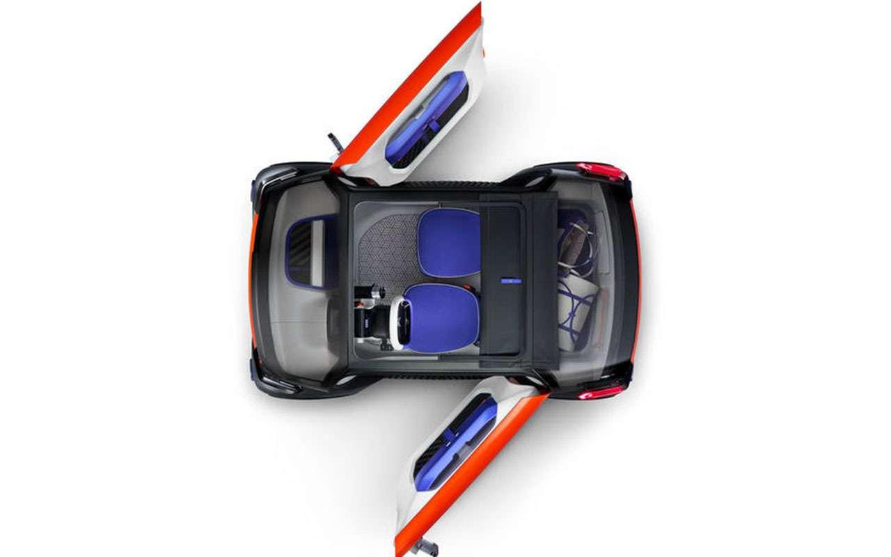 Кроха Citroen Ami One нетребует водительских прав— фото 950451
