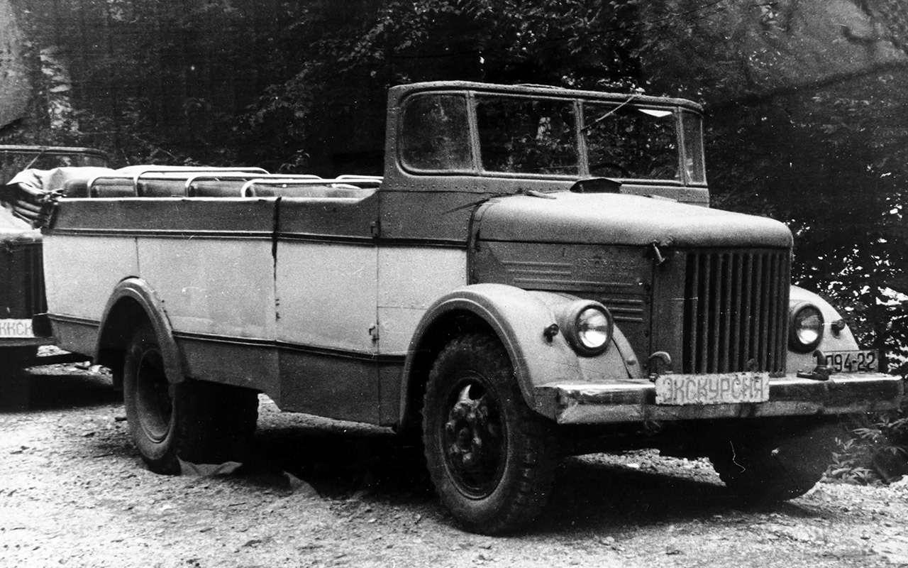 Гибрид УАЗа сГАЗом идругие малоизвестные серийные автомобили СССР— фото 933349