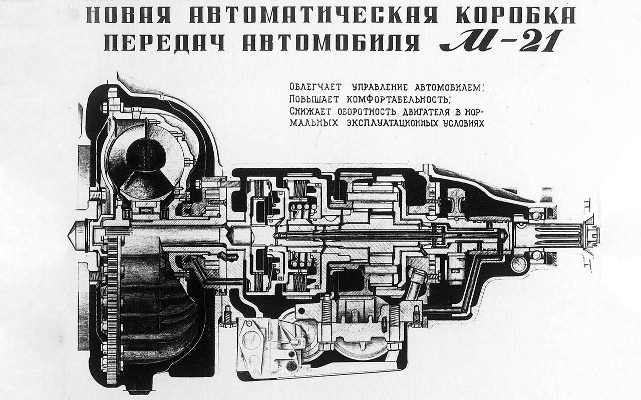 5 советских машин, укоторых (оказывается) был автомат!— фото 1282773