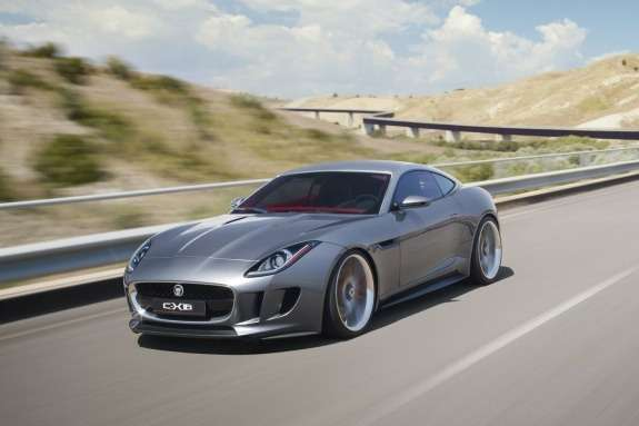 Jaguar C-X16 Concept side-front view