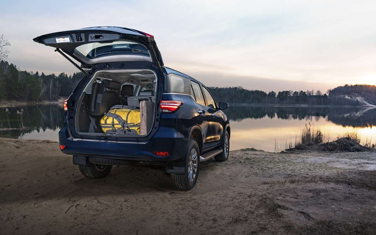 Обновленные Toyota Fortuner и Hilux: открыт прием заказов - фото 1154172