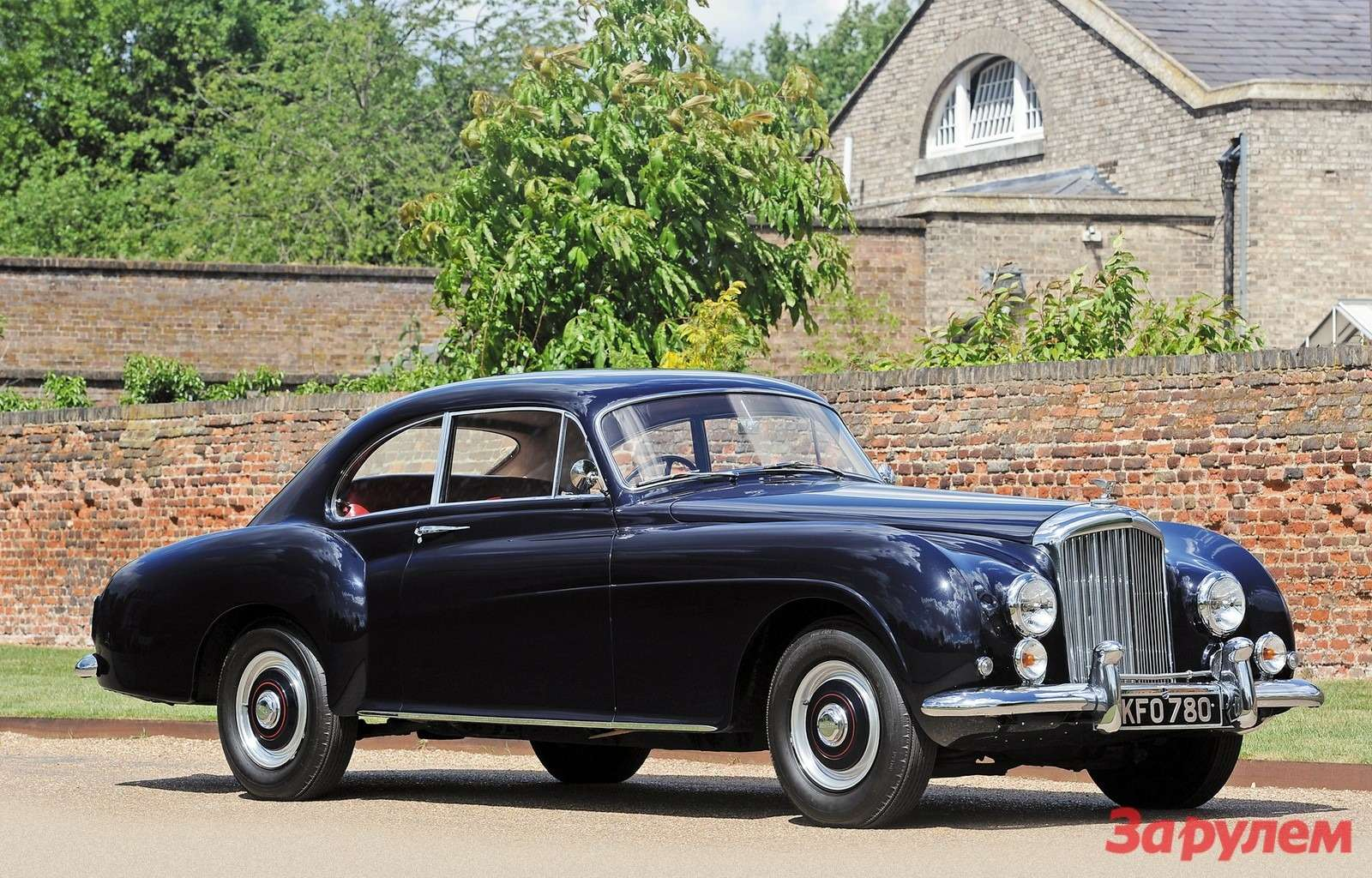 1955. Bentley R-Type Continental Fastback