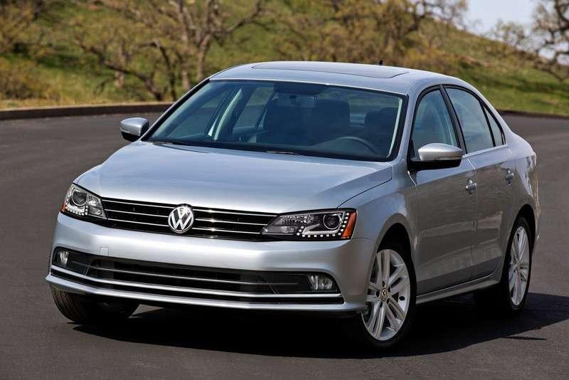 Обновленный седан Volkswagen Jetta