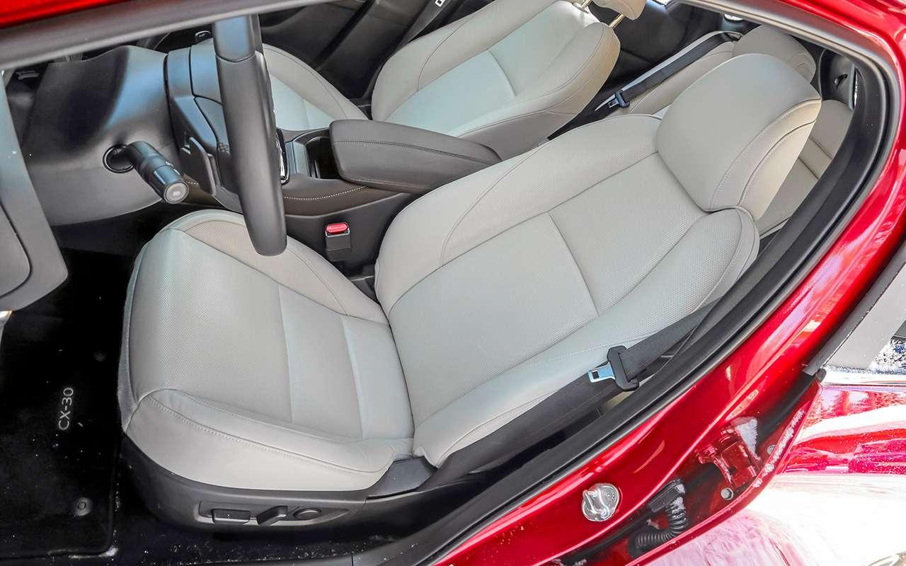 Mazda CX‑30, Skoda Karoq, Subaru XV: большой тест кроссоверов— фото 1238695