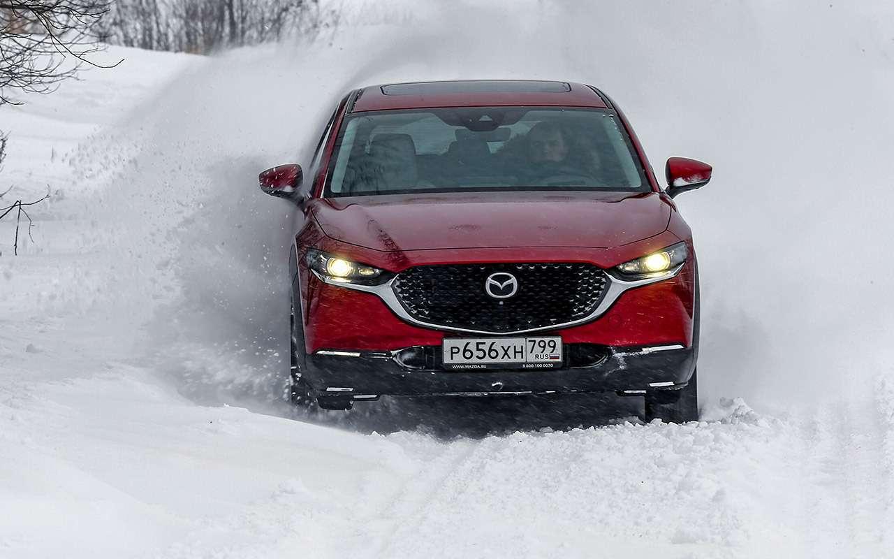 Mazda CX‑30, Skoda Karoq, Subaru XV: большой тест кроссоверов— фото 1238687