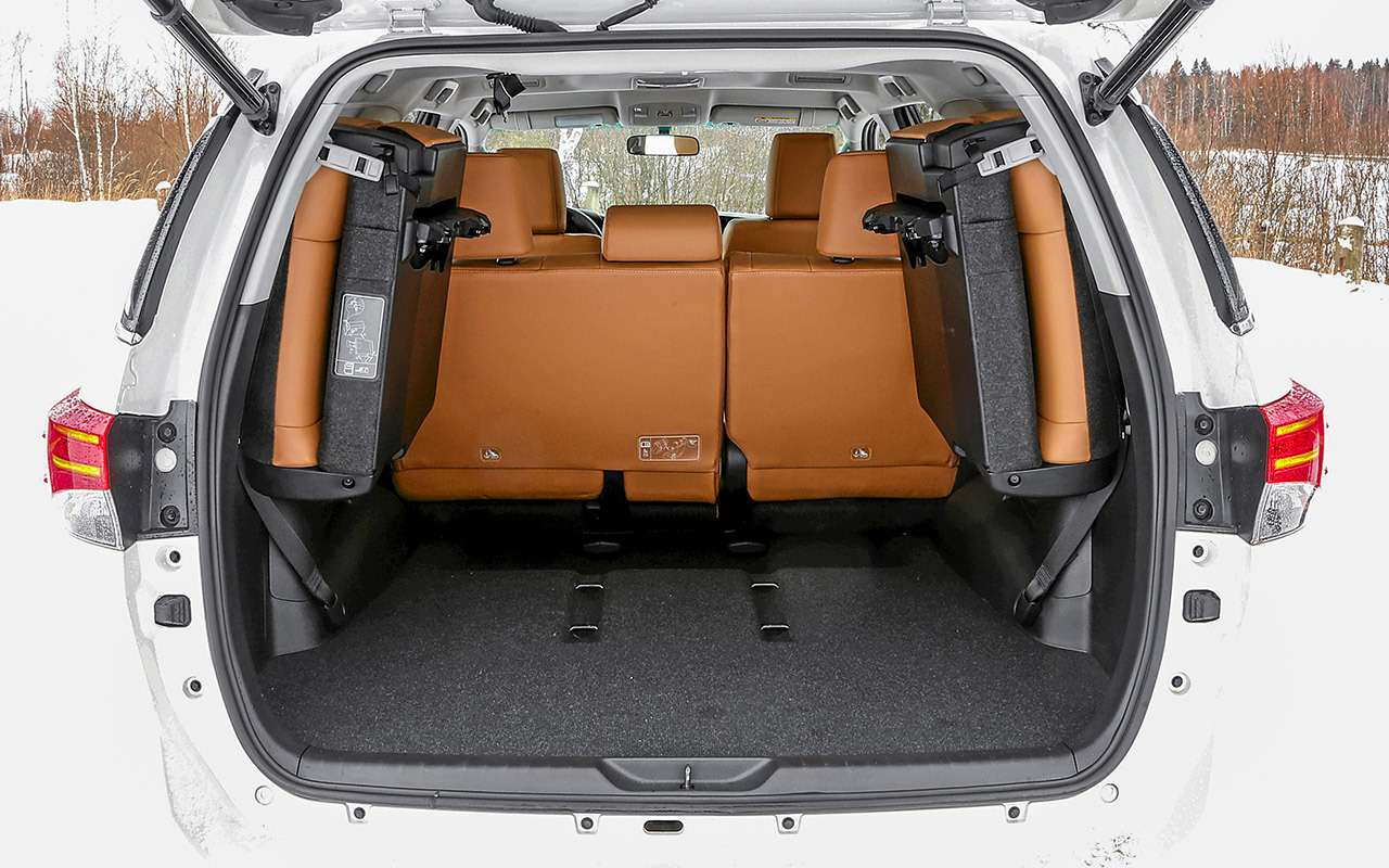 Toyota Fortuner, Mitsubishi Pajero Sport, Kia Mohave  — супертест — фото 855647