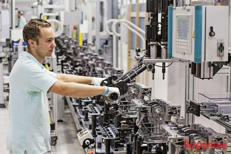 Производство двигателей компанией ŠKODA