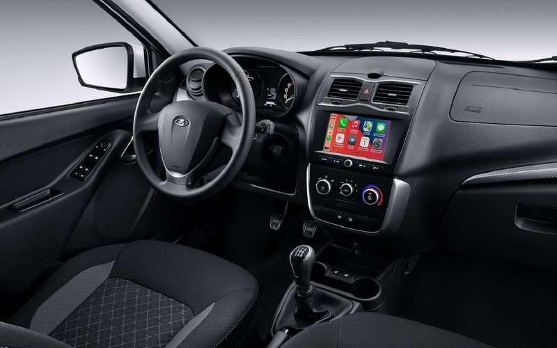 Начались продажи Lada Granta c мультимедиа EnjoY Pro
