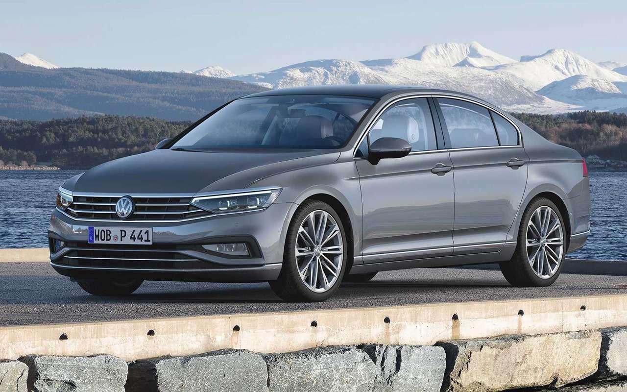 VWпредставил Passat счистым дизелем— фото 954952