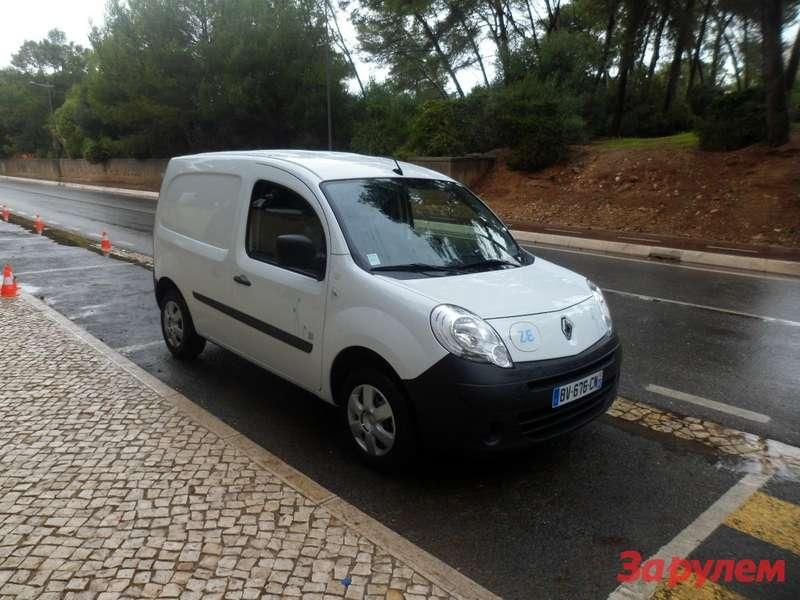 НаKangoo Z.E.Renault собрал уже 15тысяч заказов