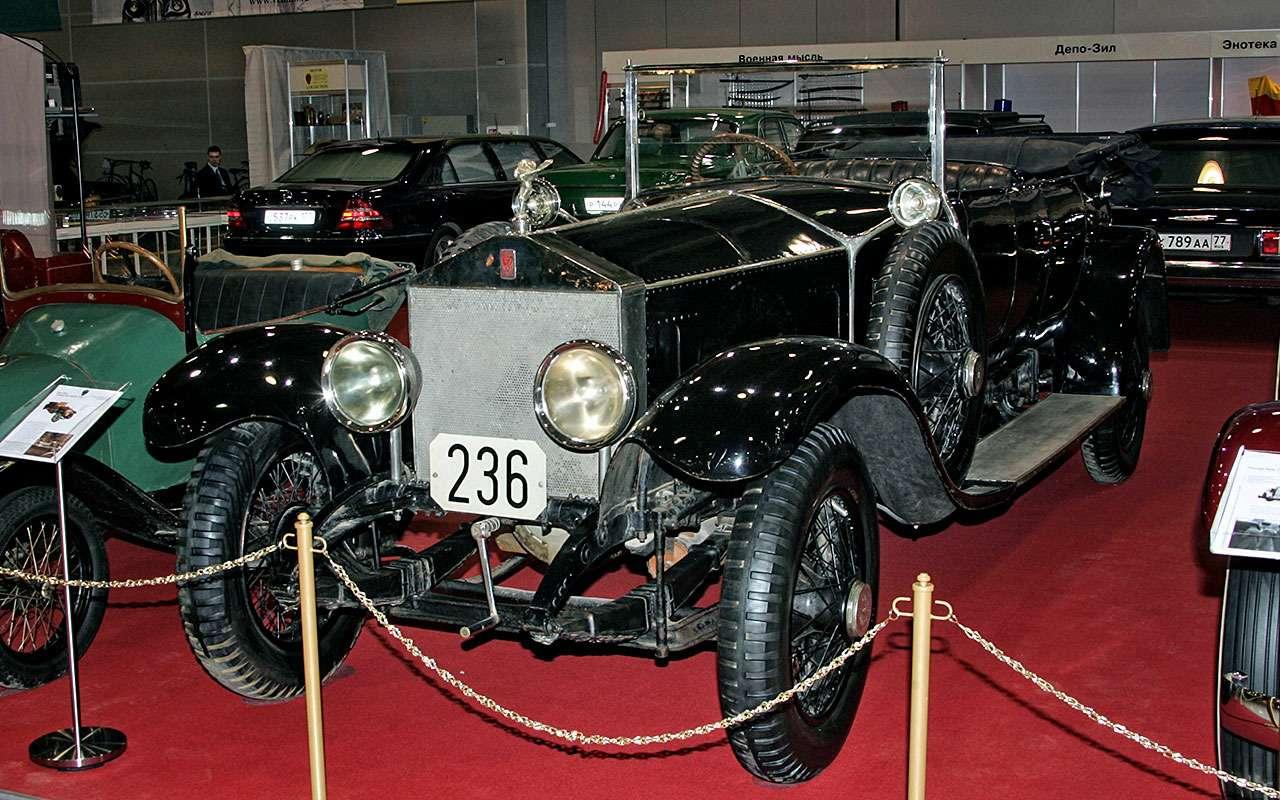 Rolls-Royce 40/50НР Silver Ghost