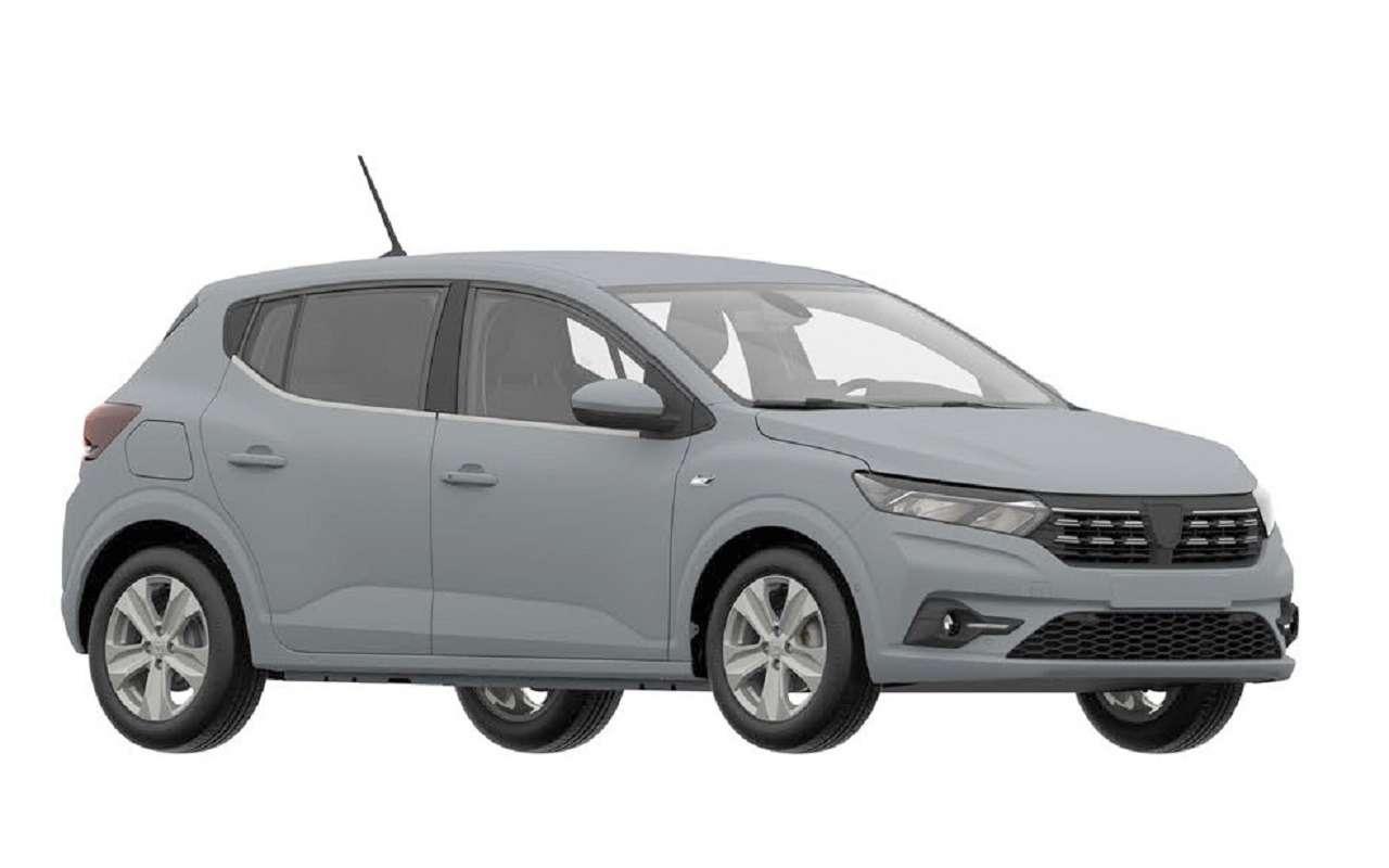 Renault запатентовала новый Sandero вРоссии— фото 1232657