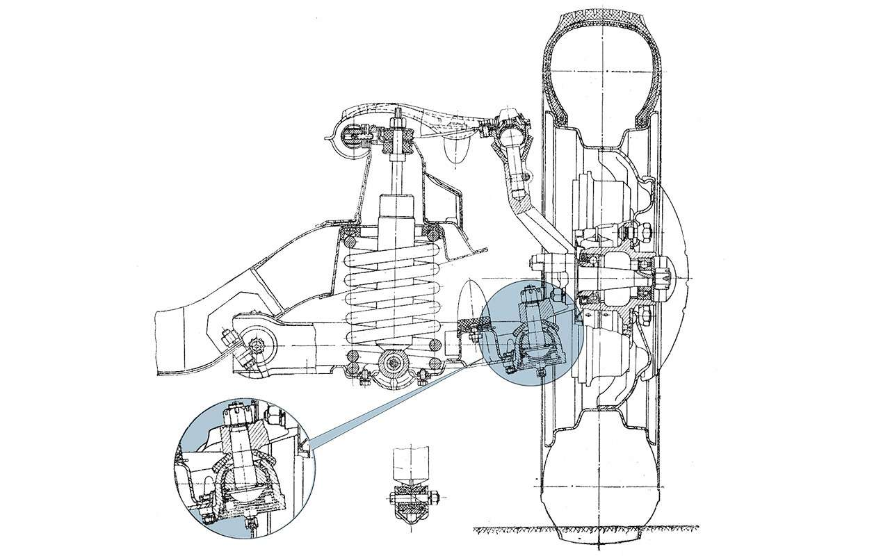 Москвич‑402— что наши инженеры срисовали уОпеля— фото 958840