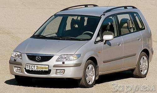 Тест Citroen Xsara Picasso, Mitsubishi Space Star, Mazda Premacy, Renault Scenic. Семейный квартет.— фото 20433