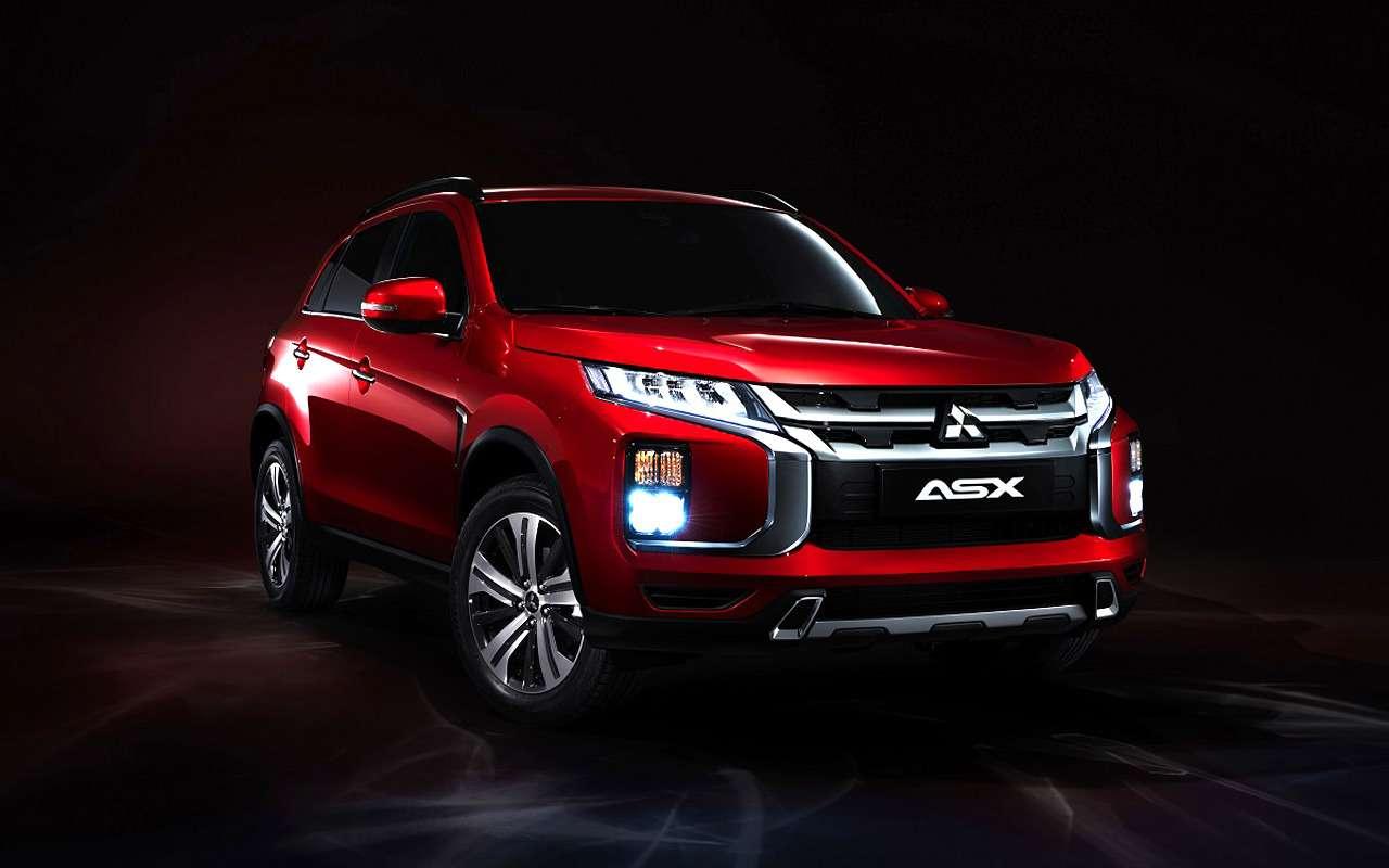 Mitsubishi представит обновленный ASX вЖеневе— фото 948387