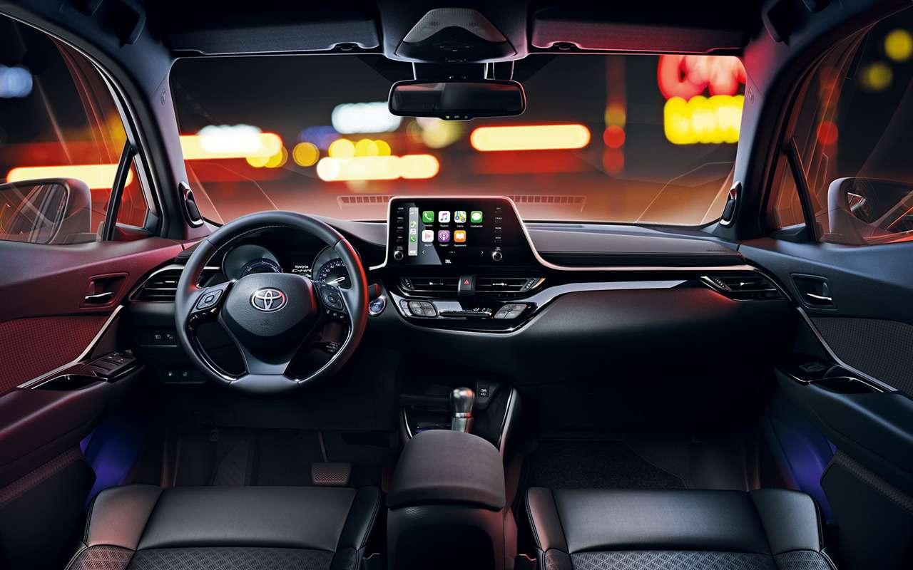 Обновленный Toyota C-HR: начался прием заказов— фото 1011948