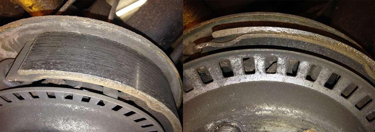 Каксамостоятельно оценить износ тормозных колодок идисков?— фото 834851