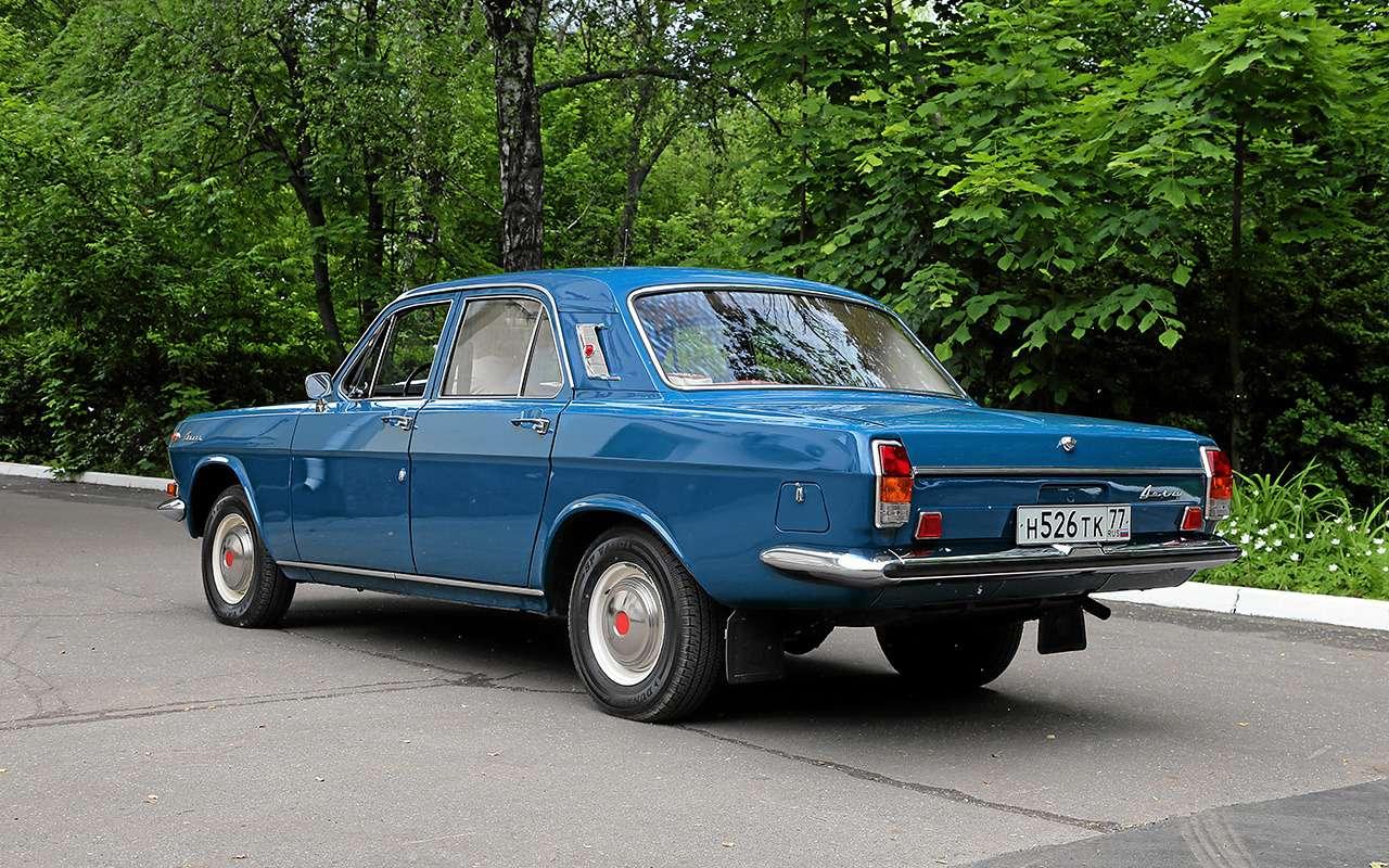 9 фактов оВолге ГАЗ-24, которых вынезнали— фото 1261369