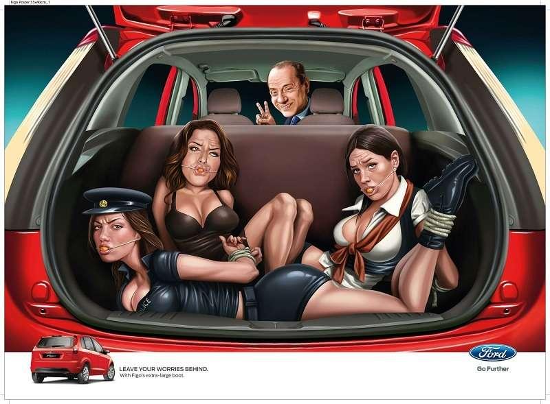 no copyright ford figo sexist print ad1