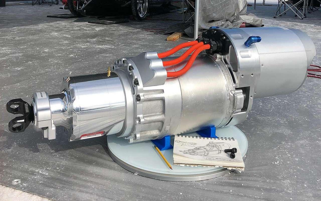 Новая разработка Теслы: 600-сильный электромотор