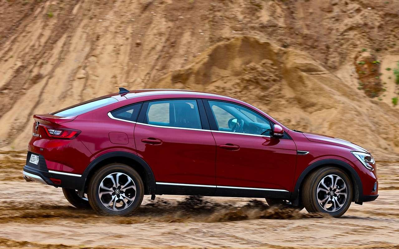 Renault Arkana, Duster, Kaptur: большой тест кроссоверов— фото 996234