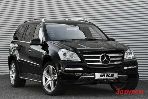 Mercedes-Benz GL-klasse with MKB P670 package side-front view