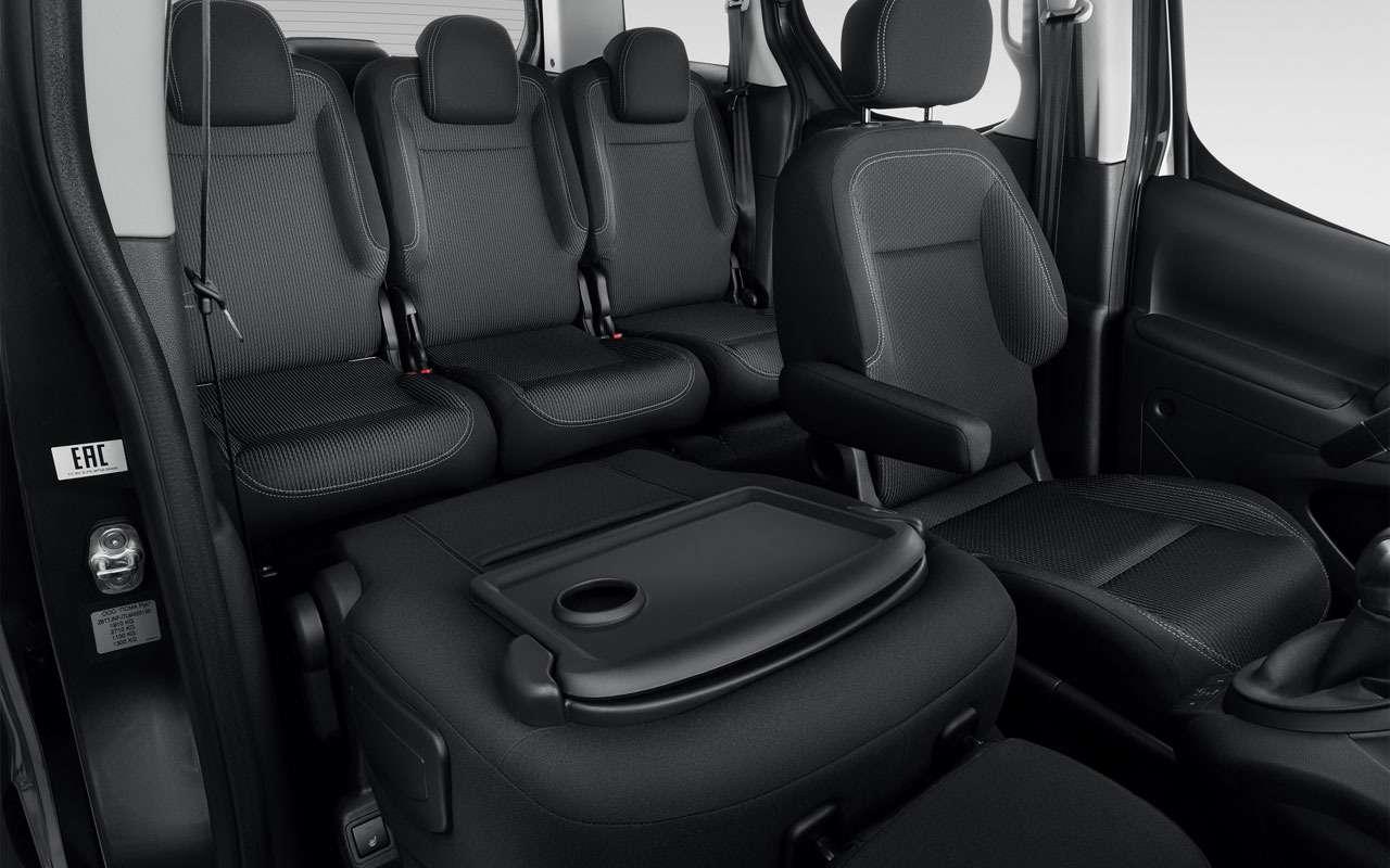 Citroen начала продажи нового Berlingo Multispace