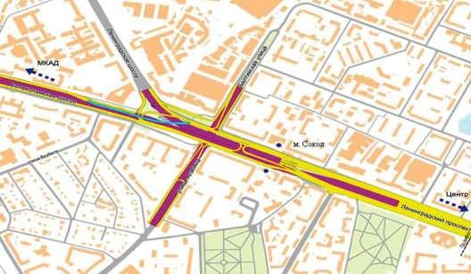 Алабяно-Балтийский тоннель— схема