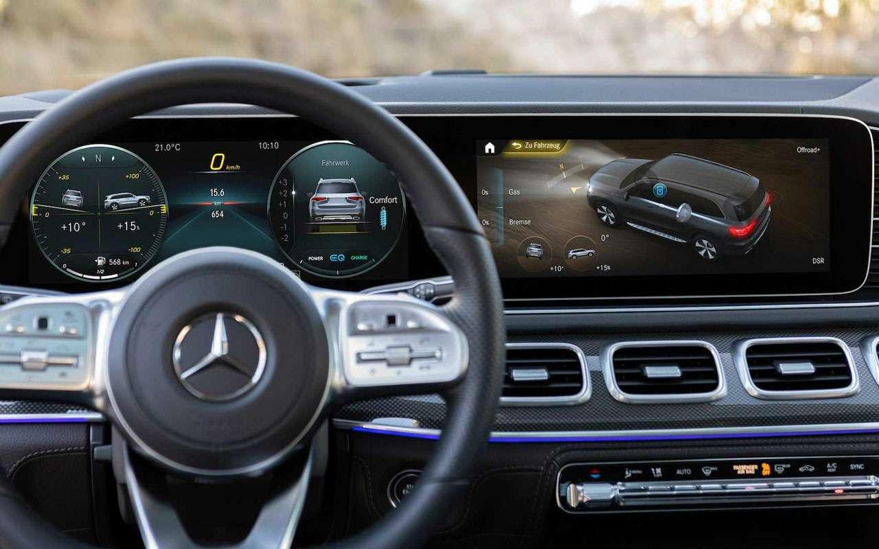 Новый Mercedes-Benz GLS: салон на7, двигатель на8— фото 967454