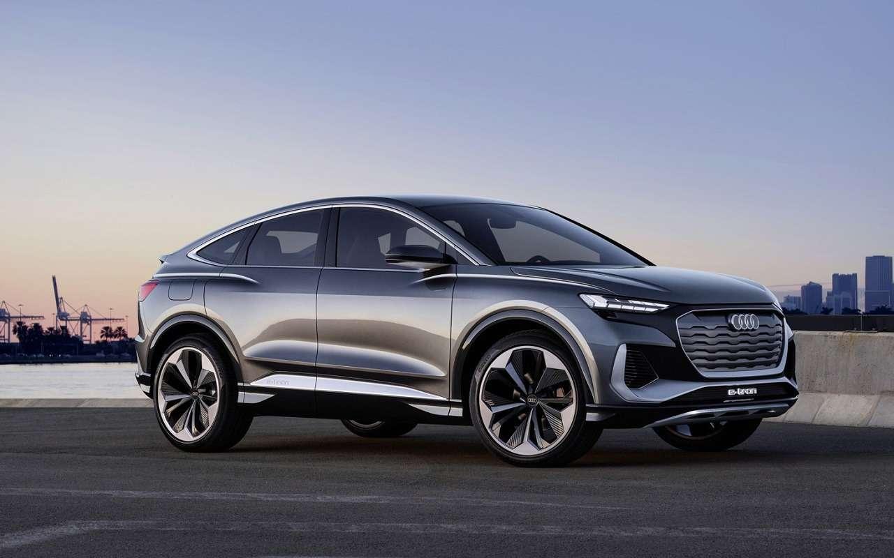 Audi показала электрическое кросс-купе Q4Sportback e-tron— фото 1143929