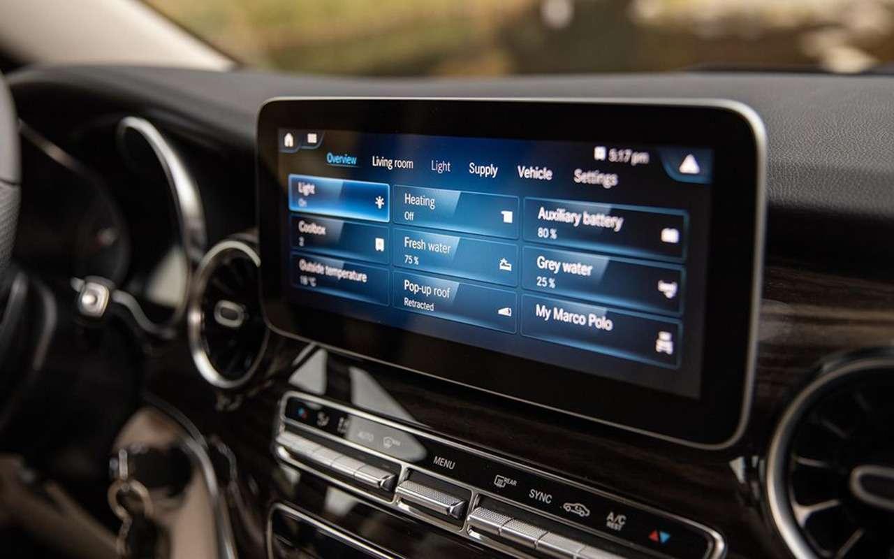 Автодом Mercedes-Benz выполняет команду: «Эй, Мерседес!»— фото 1019270