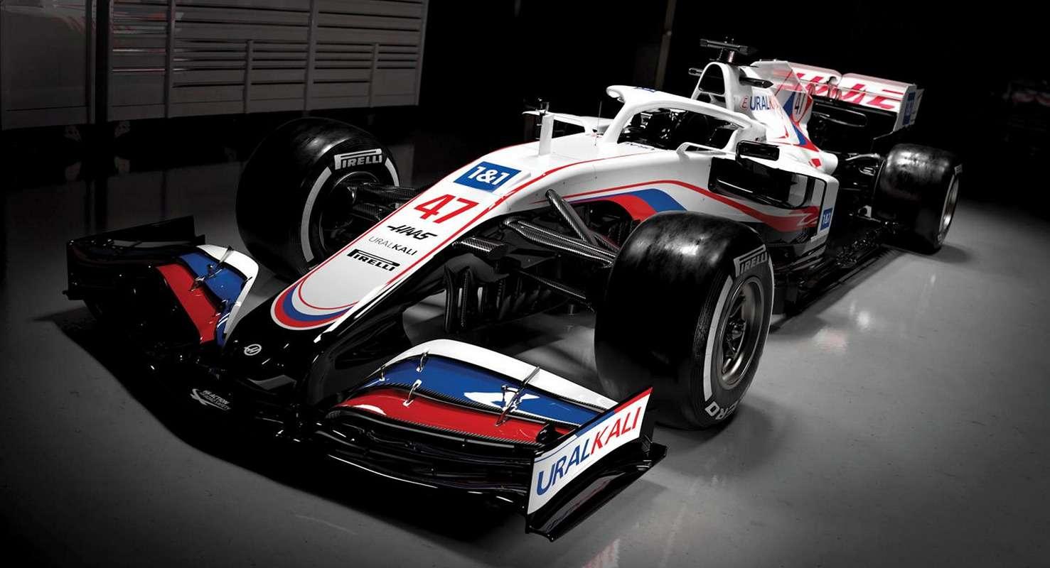 Формула-1 сезона 2021: новые болиды ироссийский (!) флаг