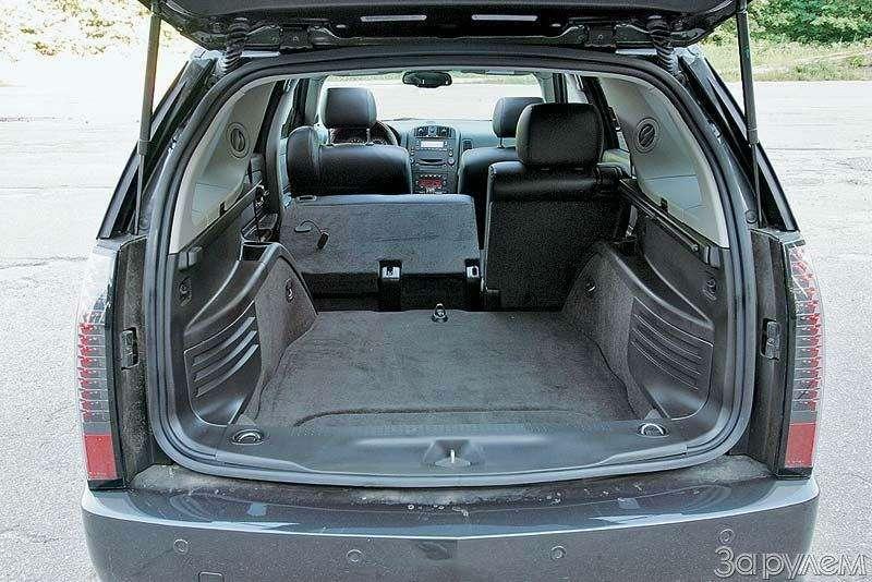 Тест Audi A6Allroad, Cadillac SRX, Volvo XC70. Выше среднего— фото 67361