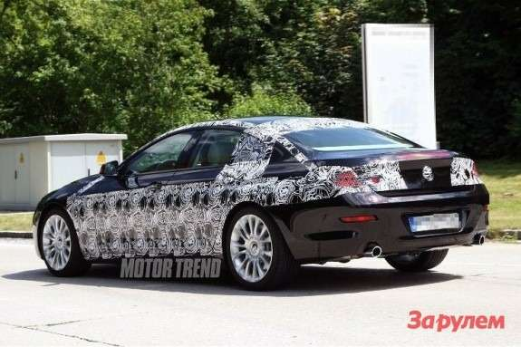 BMW6-Series GTside-rear view