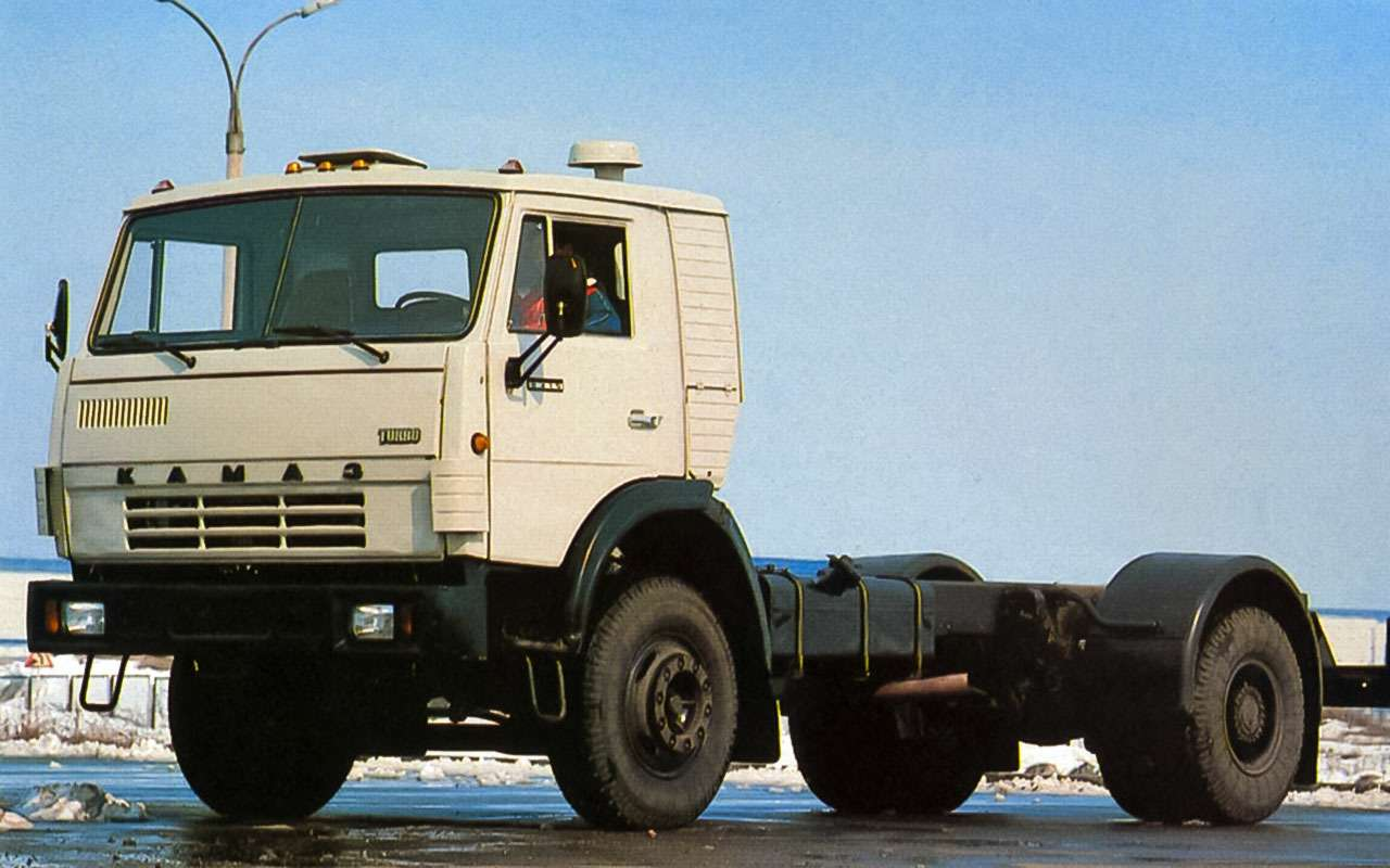 КамАЗ-5315и КамАЗ-5325, 1988г.