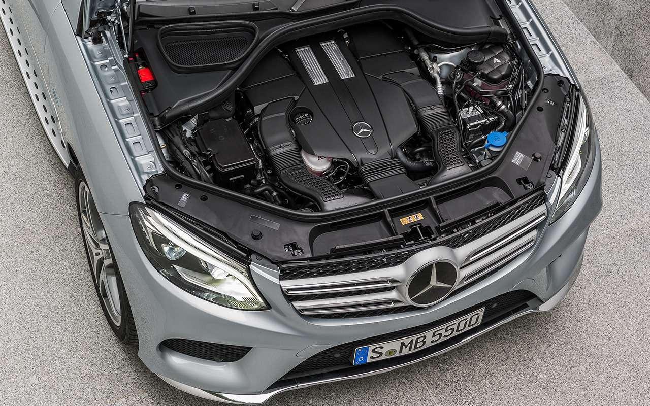 Mercedes-Benz GLE спробегом— все основные болячки— фото 1252118