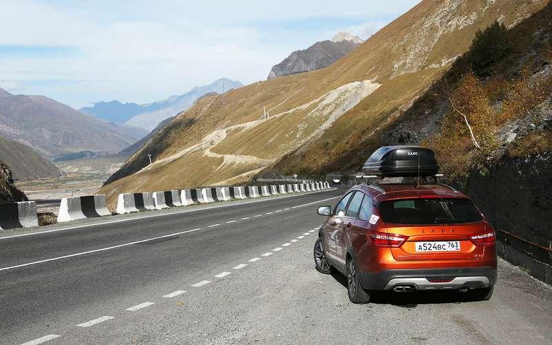 Автопробег «За рулем»: Лады на высоте 2400 метров