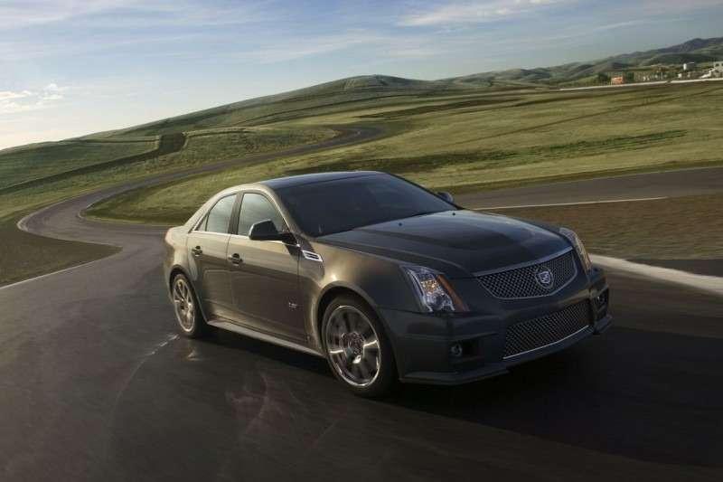 Первый Cadillac CTS-V продали за$75000— фото 350030