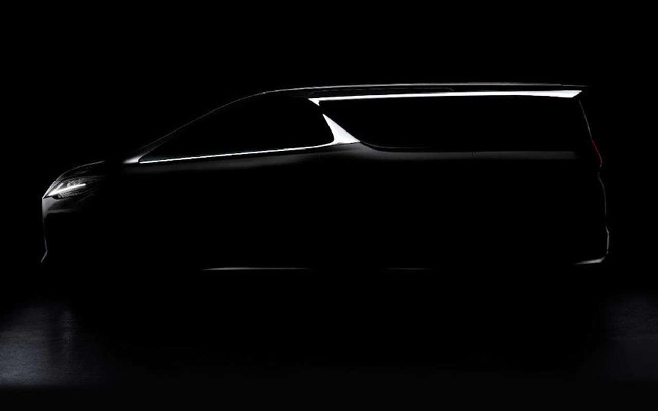 Будущий Outlander, первый минивэн Lexus идругие крутые новинки Шанхая-2019— фото 965689