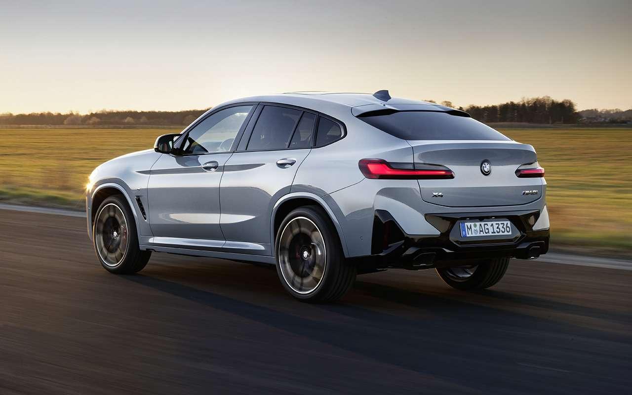 Обновленные BMW X3и X4: дата продаж ицена— фото 1252581