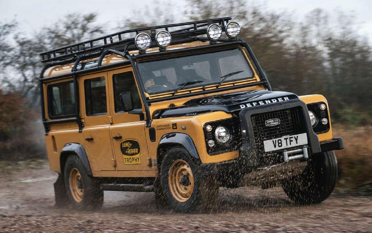 Land Rover возвращает впродажу старые Дефендеры— фото 1222949
