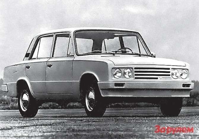 Вариант модернизации ВАЗ-2101, предложенный в1974-м фирмой «Порше». Вместо него появился ВАЗ-2105.