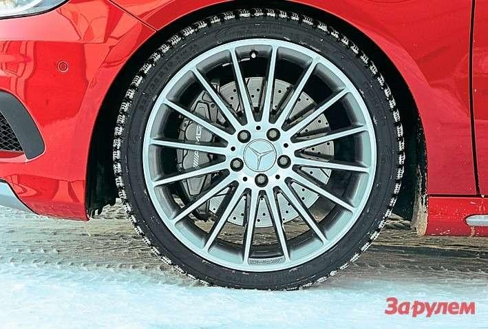 Время круга: Mercedes-Benz A45AMG vsBMW M135i xDrive— фото 263932